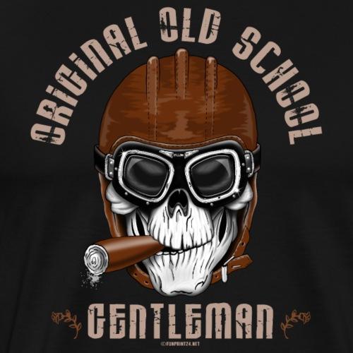 Original Old School Gentleman, Textiles, Gifts - Miesten premium t-paita