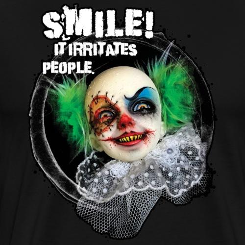 Psycho-Clown - Männer Premium T-Shirt