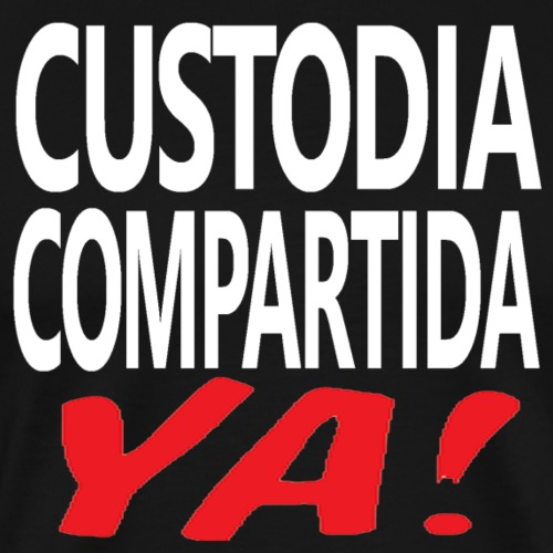 Custodia Compartida YA - Camiseta premium hombre