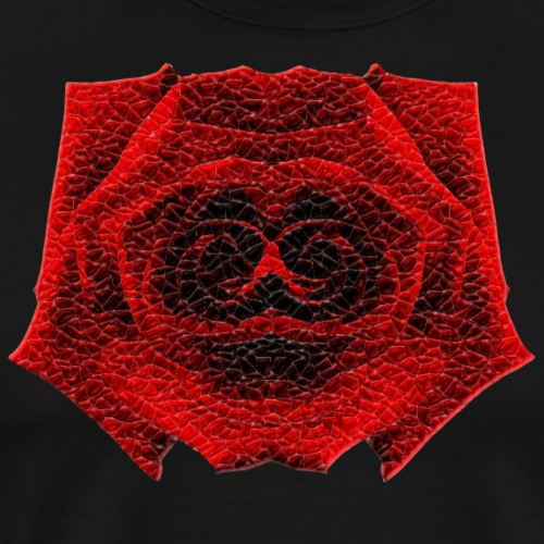 Spooky Crystal Rose - Men's Premium T-Shirt