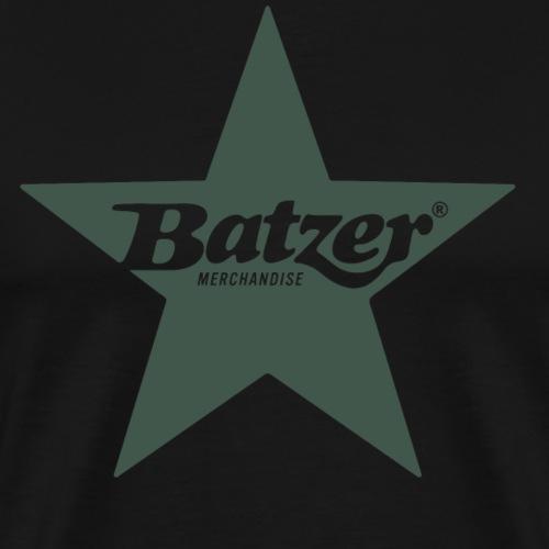 Batzer Ster - Mannen Premium T-shirt