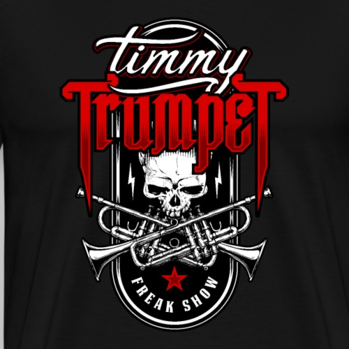 Timmy Trumpet Skull - T-shirt Premium Homme
