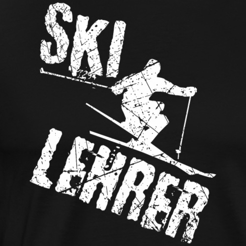 Skilehrer Apre Ski - Männer Premium T-Shirt