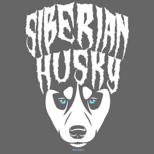 Siberian Husky - Miesten premium t-paita