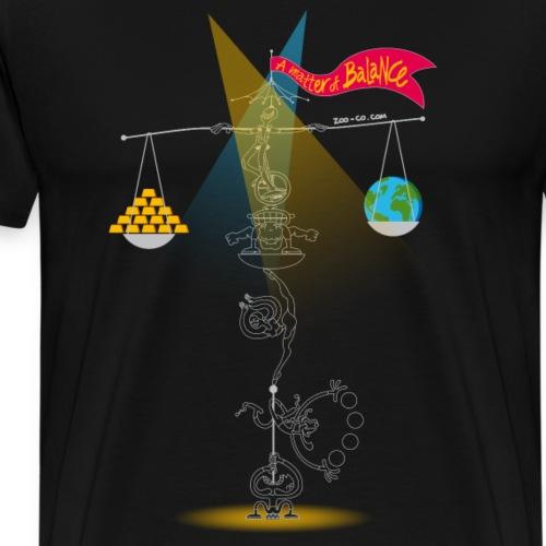 A Matter of Balance - Men's Premium T-Shirt