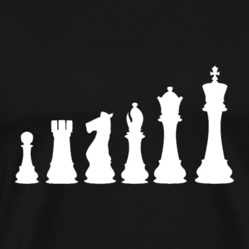 Chess Pieces - Men's Premium T-Shirt