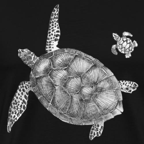 Seaturtles - Herre premium T-shirt
