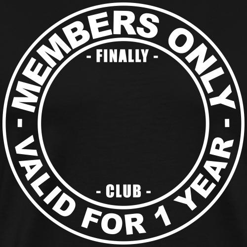 Finally XX club (template) - Men's Premium T-Shirt