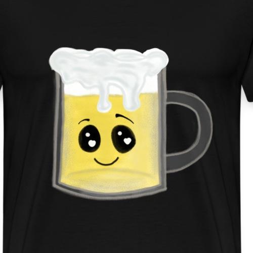 Bier Kawaii Krug für die bayrische Feier - Männer Premium T-Shirt