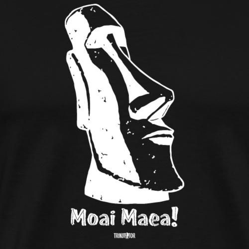 Moai Maea! (weiss) - Männer Premium T-Shirt