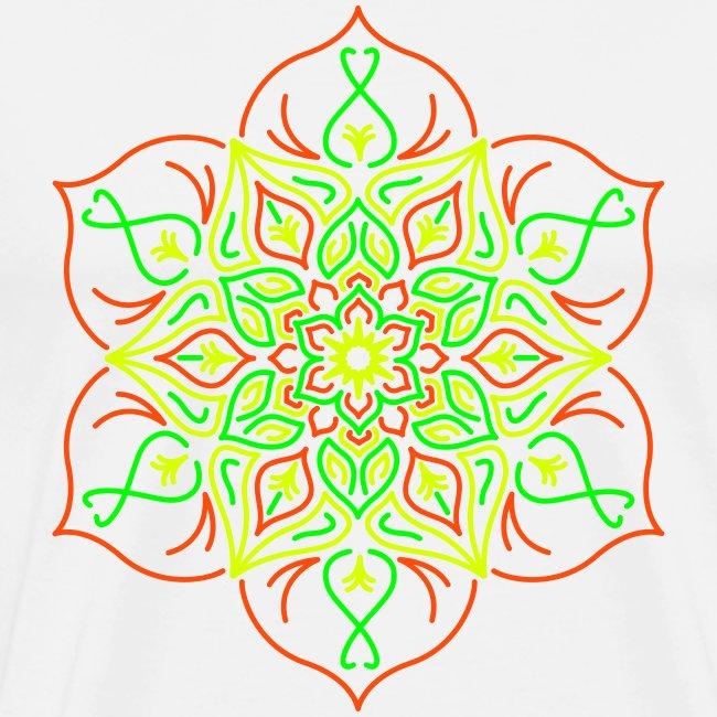 Flor de loto de fuego
