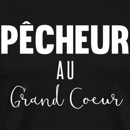 Pêcheur au grand coeur - T-shirt Premium Homme