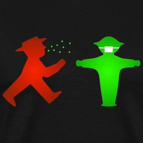 Ampelmännchen - Männer Premium T-Shirt