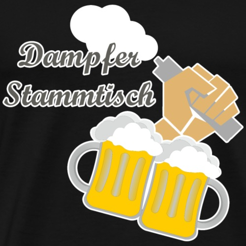 Dampferstammtisch - Männer Premium T-Shirt