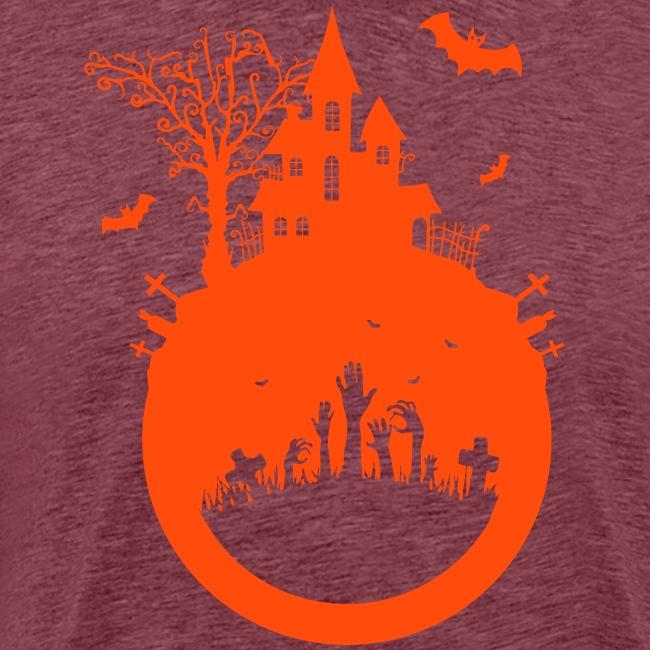 Halloween Design - Das Spukhaus