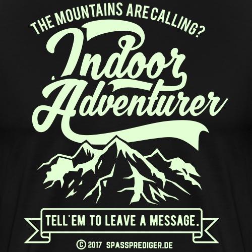 Indoor Adventurer - Männer Premium T-Shirt