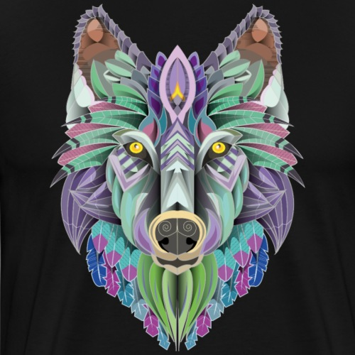 totem of the wolf - T-shirt Premium Homme