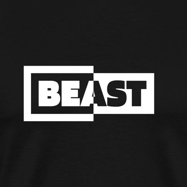 00383 Beast blanco negro