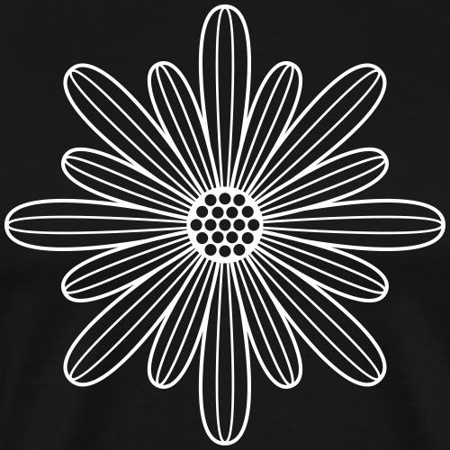 Die Blüte - Männer Premium T-Shirt
