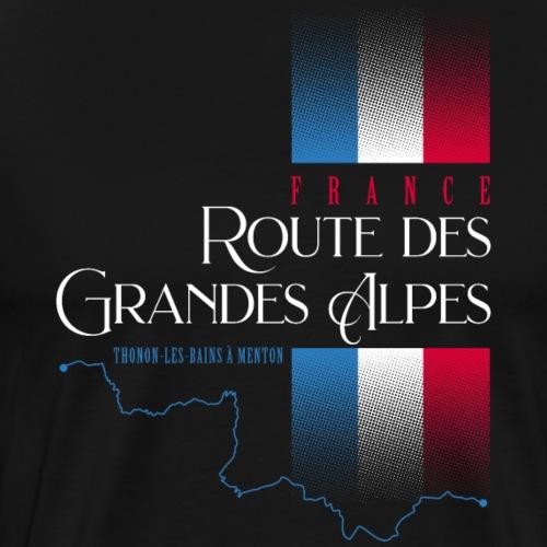 Route Des Grandes Alpes France 2021 Design - Men's Premium T-Shirt