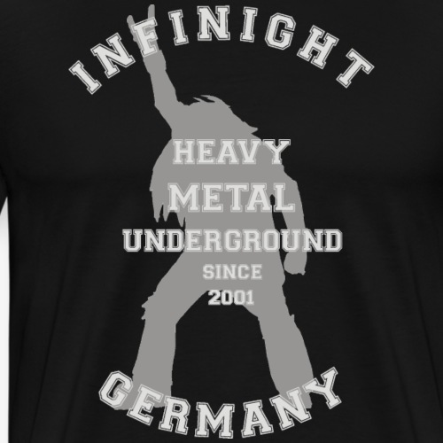 Infinight College headbanger hell - Männer Premium T-Shirt