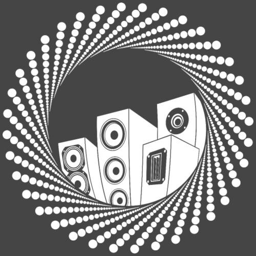 Obwód głośnika - Koszulka męska Premium