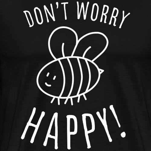 Süßes Kinder T-Shirt mit Biene. - Männer Premium T-Shirt