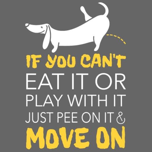Move on! - Miesten premium t-paita