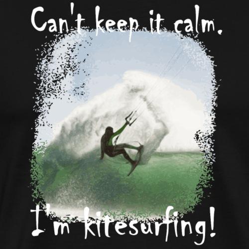 Kite Surfing - Mannen Premium T-shirt