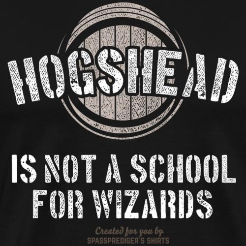 Whisky T Shirt Design Hogshead Barrel - Männer Premium T-Shirt