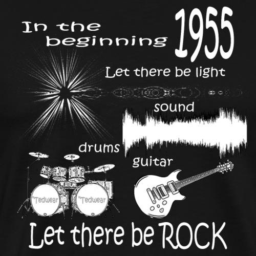 Let there be rock - Men's Premium T-Shirt