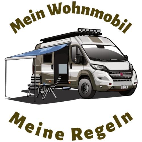 Mein Wohnmobil, meine Regeln Kastenwagen - Männer Premium T-Shirt
