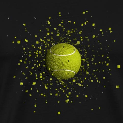 Balle de TENNIS - T-shirt Premium Homme