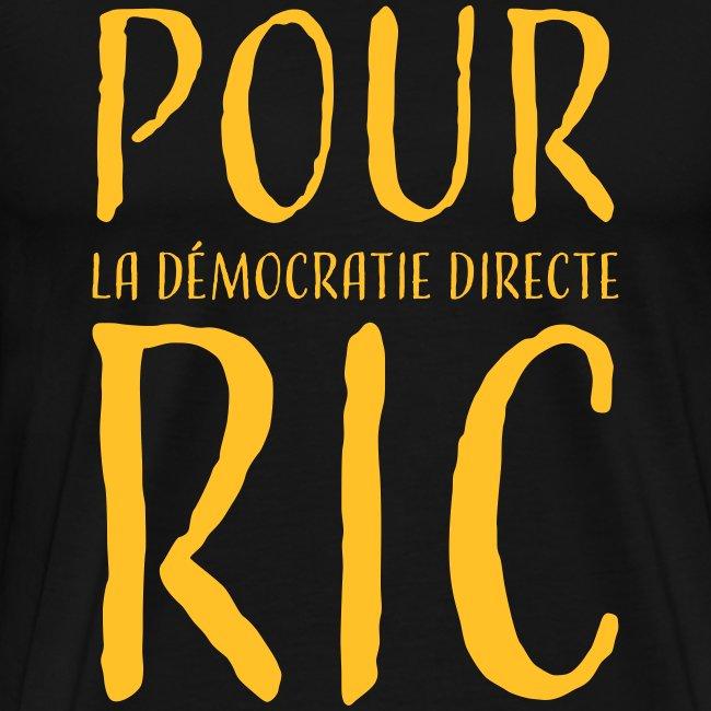 Pour une démocratie directe RIC, gilets jaunes