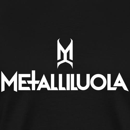 Metalliluola - Miesten premium t-paita