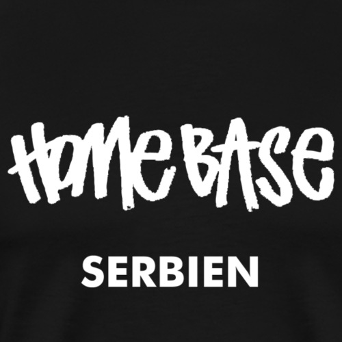 WORLDCUP 2018 Serbien - Männer Premium T-Shirt