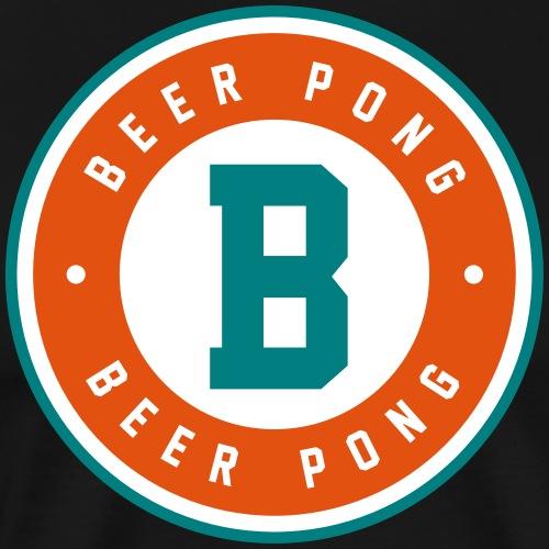 Beer Pong Logo VI - Männer Premium T-Shirt
