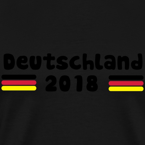 Weltmeisterschaft 2018 DE_ (Flagge) - Männer Premium T-Shirt