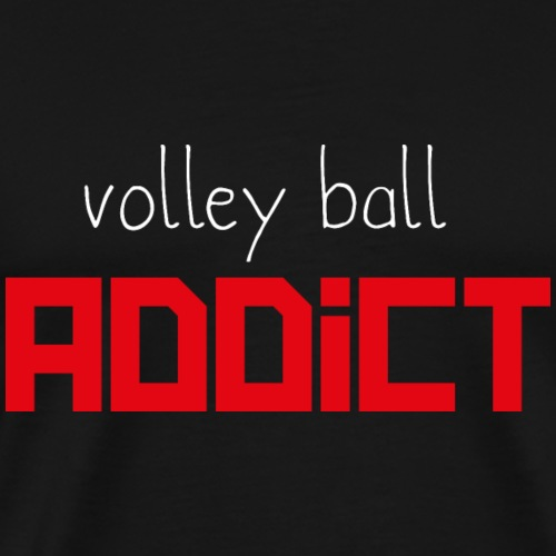 Volley ball addict - T-shirt Premium Homme