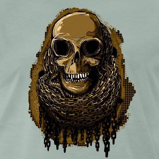 Skull in Chains YeOllo