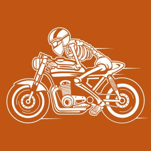 Cafe Racer Motorrad 05_weiß - Männer Premium T-Shirt
