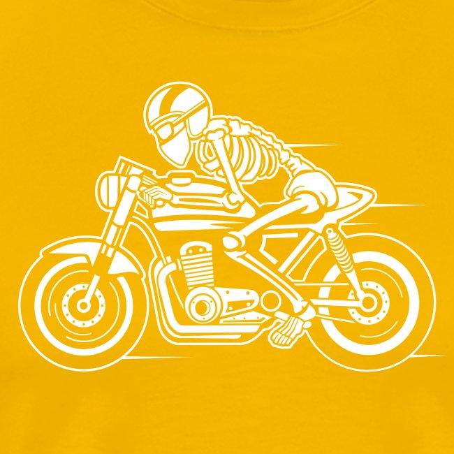Cafe Racer Motorrad 05_weiß