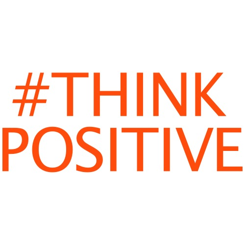 #thinkpositive - Männer Premium T-Shirt