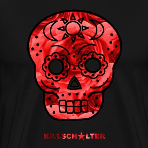 Skull Roses - Men's Premium T-Shirt