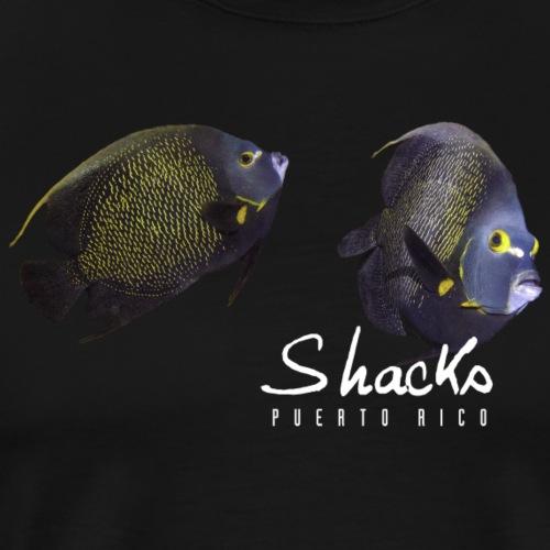 Shacks - Black Angel - Men's Premium T-Shirt