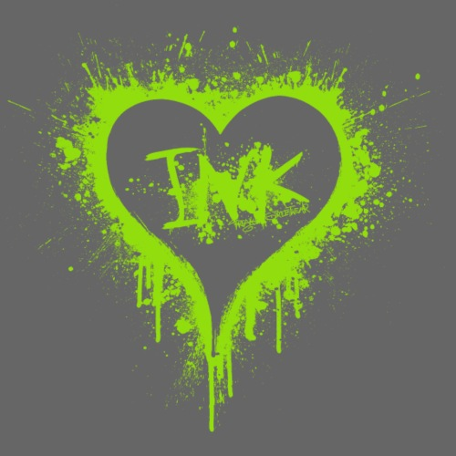 I Love Ink green - Männer Premium T-Shirt