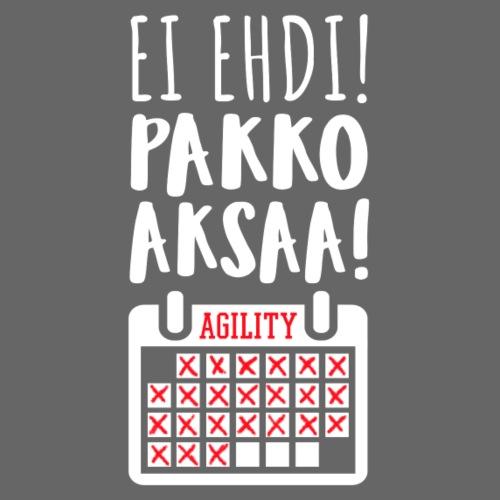 EI Ehdi Pakko Aksaa - Miesten premium t-paita