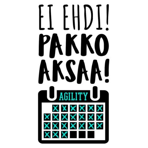 EI Ehdi! Pakko Aksaa II - Miesten premium t-paita