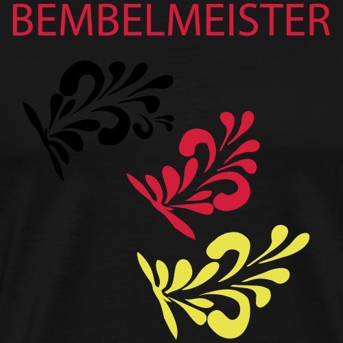 Bembelschwung #Apfelweinmeister - Männer Premium T-Shirt