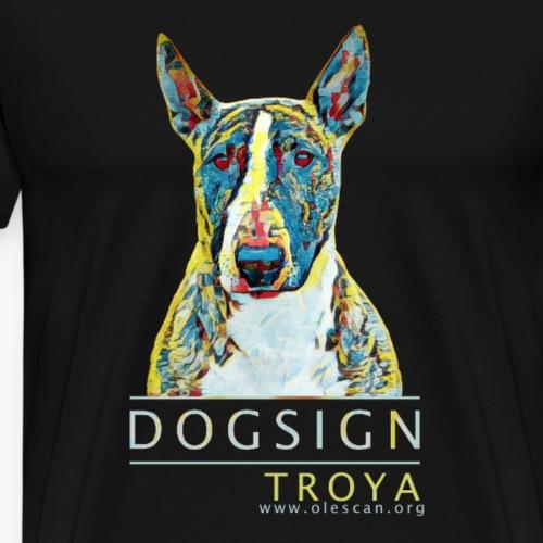 Troya - Camiseta premium hombre